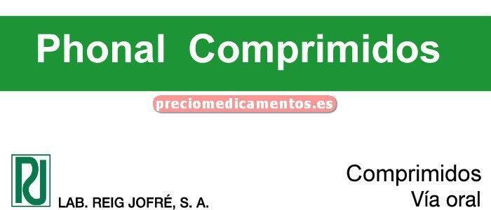Caja PHONAL 10 comprimidos disolución oral