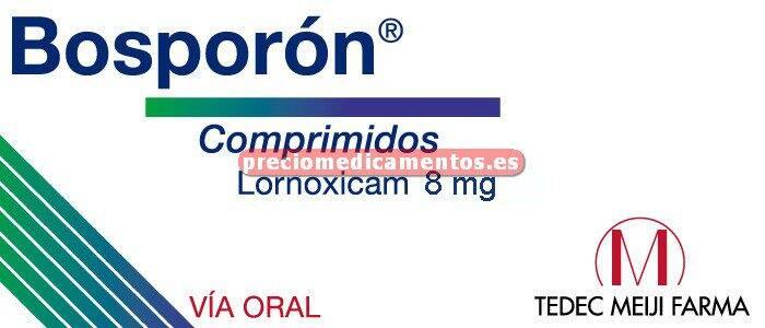 Caja BOSPORON 8 mg 30 comprimidos