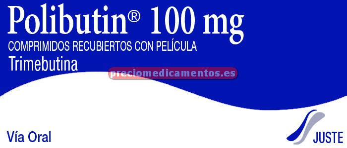 Caja POLIBUTIN 100 mg 20 comprimidos