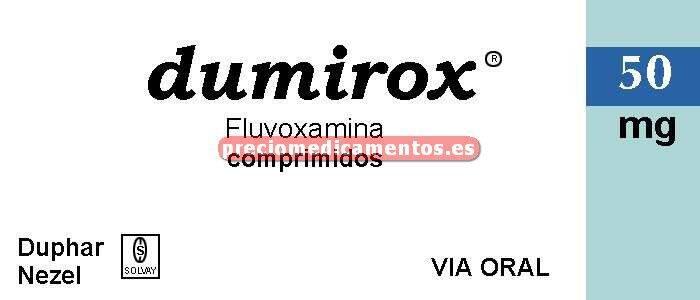 Caja DUMIROX 50 mg 30 comprimidos recubiertos