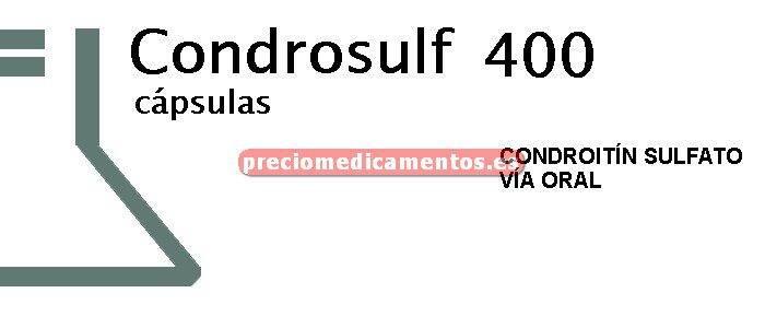 Caja CONDROSULF 400 mg 60 cápsulas
