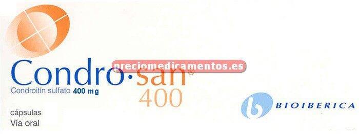Caja CONDROSAN 400 mg 60 cápsulas