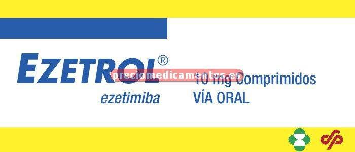 Caja EZETROL 10 mg 28 comprimidos