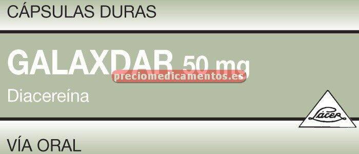 Caja GALAXDAR 50 mg 30 cápsulas