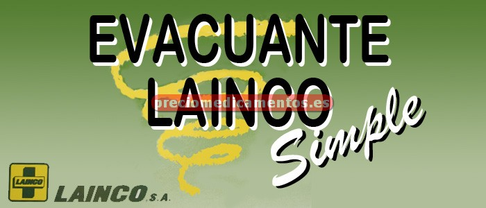"Caja EVACUANTE LAINCO SIMPLE ""71 g"" 4 sobres"