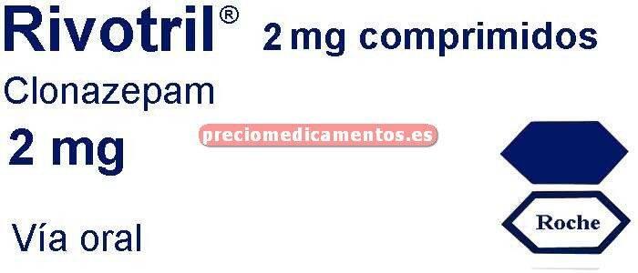 Caja RIVOTRIL 2 mg 60 comprimidos