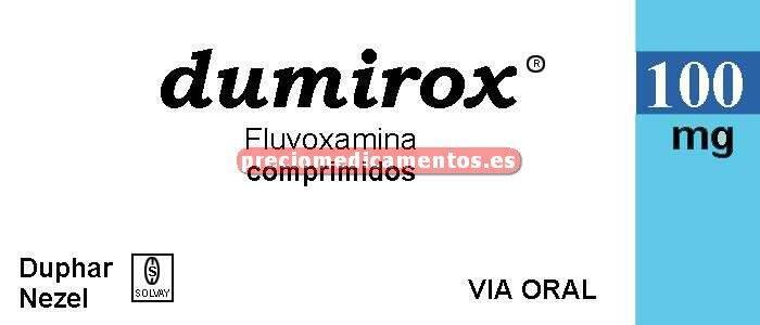 Caja DUMIROX 100 mg 30 comprimidos recubiertos