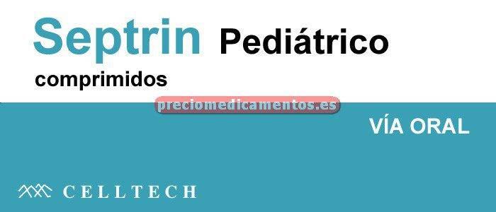 "Caja SEPTRIN ""PEDIÁTRICO"" 100/20 mg 100 comprimidos"
