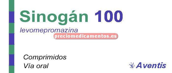 Caja SINOGAN 100 mg 20 comprimidos