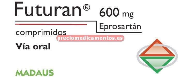 Caja FUTURAN 600 mg 28 comprimidos recubiertos