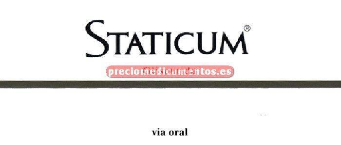 Caja STATICUM 5 mg 100 comprimidos