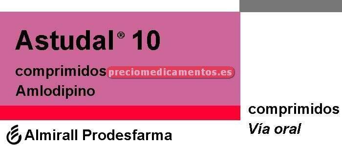 Caja ASTUDAL 10 mg 30 comprimidos