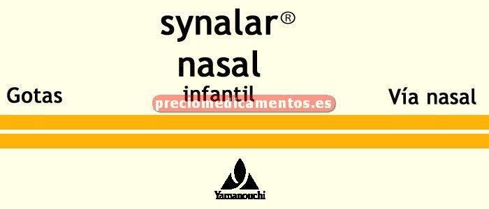 Caja SYNALAR NASAL INFANTIL gotas infantiles 15 ml