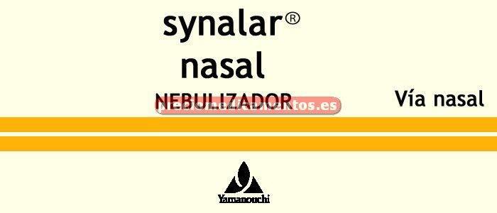 Caja SYNALAR NASAL nebulizador 15 ml
