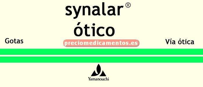 Caja SYNALAR OTICO gotas óticas solución 10 ml
