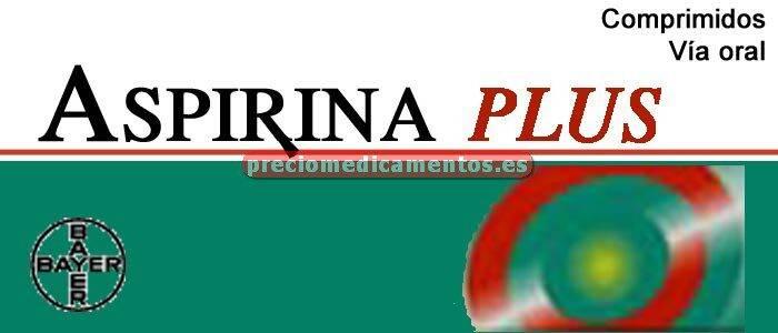 Caja ASPIRINA PLUS 500/50 mg 20 comprimidos