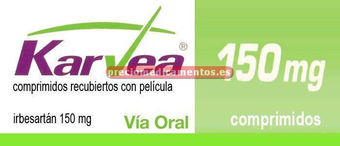 Caja KARVEA 150 mg 28 comprimidos cub pelic