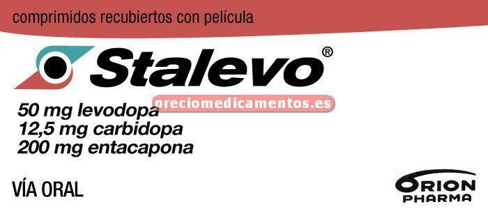 "Caja STALEVO ""50"" 50/12,5/200 mg 100 comprimidos"