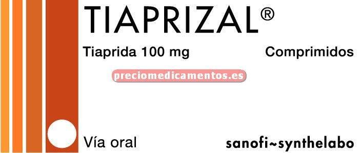 Caja TIAPRIZAL 100 mg 24 comprimidos