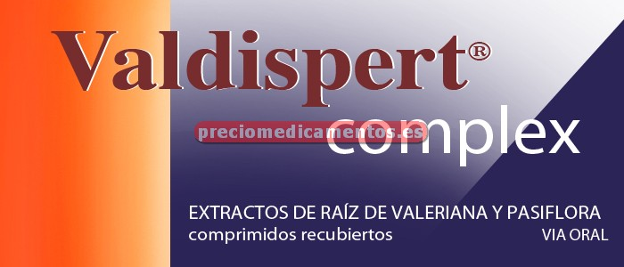 Caja VALDISPERT COMPLEX 50 comprimidos