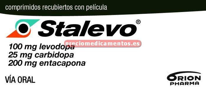 "Caja STALEVO ""100"" 100/25/200 mg 100 comprimidos"