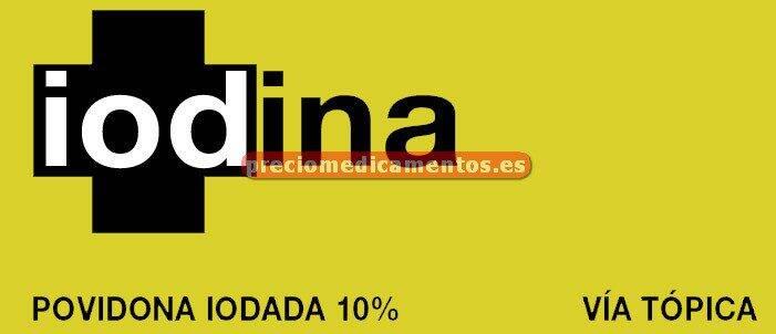 Caja IODINA 10% solución 125 ml