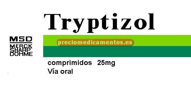 Caja TRYPTIZOL 25 mg 60 comprimidos recubiertos