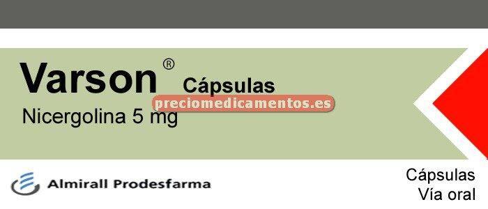 Caja VARSON 5 mg 45 cápsulas