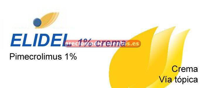 Caja ELIDEL 1% crema 30 g