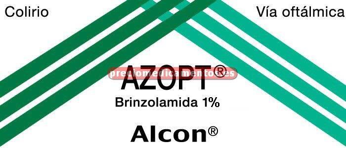 Caja AZOPT 1 % colirio 5 ml