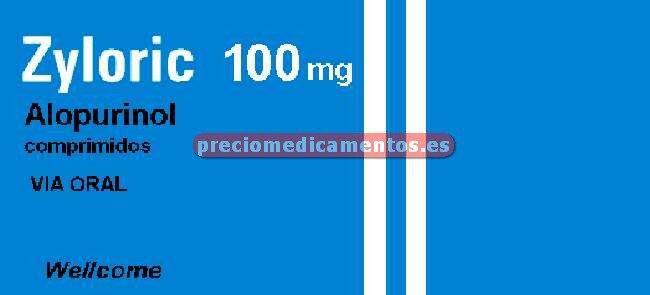 Caja ZYLORIC 100 mg 100 comprimidos