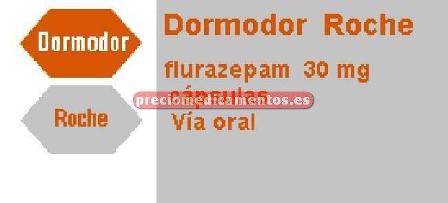 Caja DORMODOR 30 mg 30 cápsulas