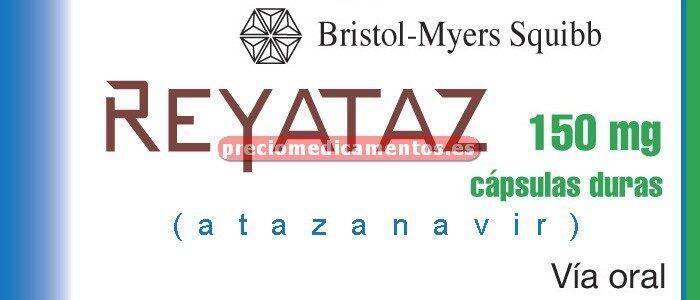 Caja REYATAZ 150 mg 60 cápsulas