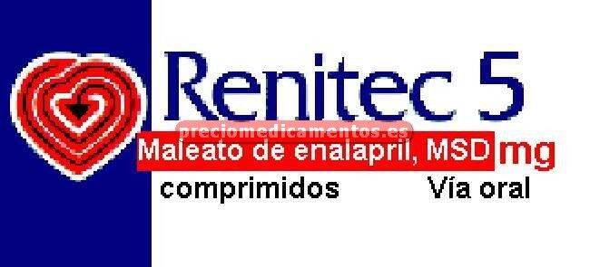 Caja RENITEC 5 mg 60 comprimidos