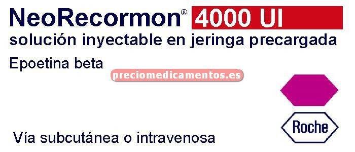 Caja NEORECORMON 4000 UI 6 jeringas precargadas