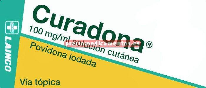 Caja CURADONA 10% solución 30 ml
