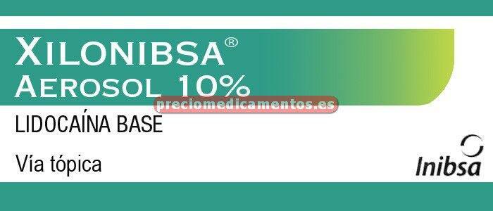 Caja XILONIBSA 10% aerosol 50 ml