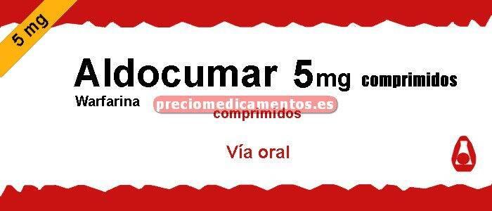 Caja ALDOCUMAR 5 mg 40 comprimidos
