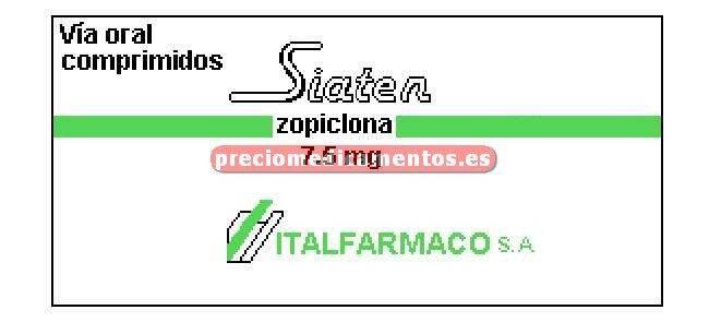 Caja SIATEN 7.5 mg 30 comprimidos