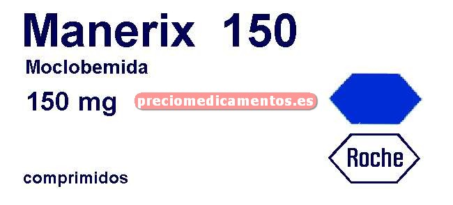 Caja MANERIX 150 mg 30 comprimidos