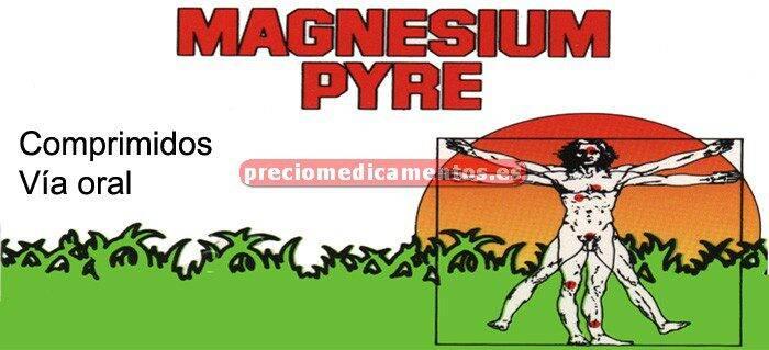 Caja MAGNESIUM PYRE 50 comprimidos