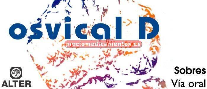 Caja OSVICAL D 4500 mg/400 UI 60 sobres