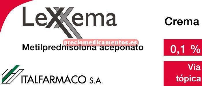 Caja LEXXEMA 1 mg/g crema 30 g