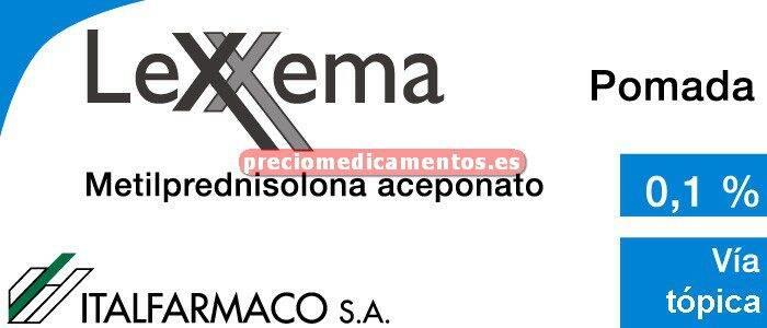 Caja LEXXEMA 1 mg/g pomada 30 g