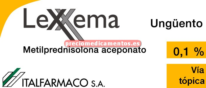 Caja LEXXEMA 1 mg/g ungüento 60 g