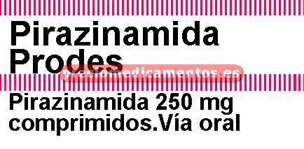 Caja PIRAZINAMIDA PRODES 250 mg 100 comprimidos