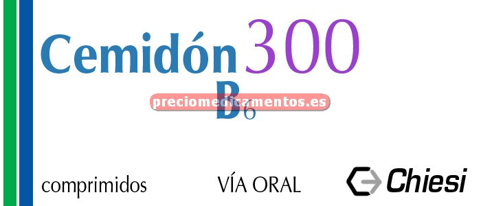 Caja CEMIDON 300 B6 300/50 mg 30 comprimidos