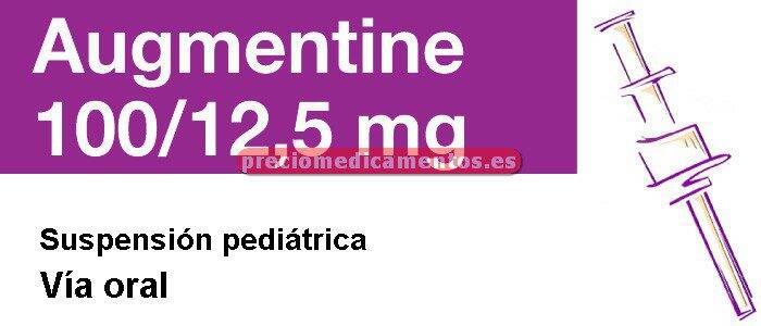 Caja AUGMENTINE 100/12.5 mg polvo susp 120 ml