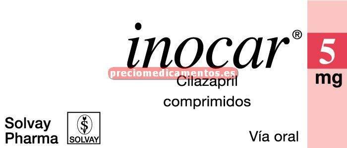 Caja INOCAR 5 mg 28 comprimidos