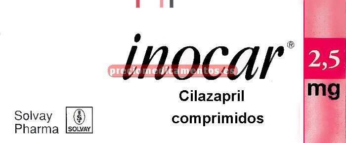 Caja INOCAR 2,5 mg 28 comprimidos